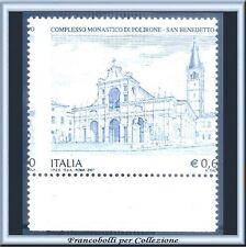 2007 Italia Repubblica €. 0,60 Polirone Varietà Dentel Spostata Nuovo Integro **