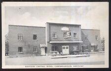 Postcard CAMPBELLSVILLE Kentucky/KY  Central Hotel view 1930's?