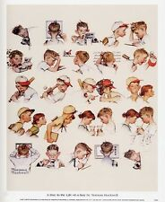 Norman Rockwell Saturday Evening Post DAY OF A BOY