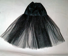 skirt petticoat  Evangeline ghastly various length petti black you choose length