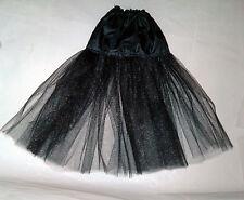 skirt petticoat  Evangeline ghastly tea length petti black