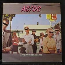 AC/DC - Dirty Deeds Done Dirt Cheap LP Mint- 50323 Spain 1982 Vinyl Record