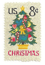 SC#1508 - 8c Christmas Tree in Needlepoint MNH