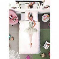 Snurk Ballerina Single Duvet Cover & Pillowcase 160 Thread Count 100% Cotton