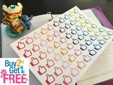 PP054 -- Small Thumbs Up Life Planner Die-cut Stickers for Erin Condren (60pcs)