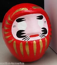 "Japanese 3.5""H Red Daruma Doll for Goal Setting, Made in Japan - Boy Scouts"