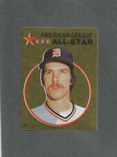 1982 O-Pee-Chee Baseball Sticker Jack Morris #139 All-Star Foil Tigers *MINT