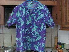 Vintage 1970s shirt Lightning Bolt Hawaiian shirt men's small