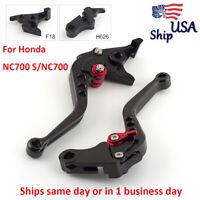 1 Pair Brake & Clutch Levers For Honda NC700 S/NC700 X 2012-2013 Magna vf750 USA