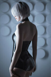 """24""""x36"""" 2B Cosplay Canvas Art Poster Wall Prints Decor Card Tube Packing"""