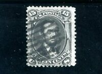 USAstamps Used FVF US Series of 1861 Lincoln Scott 77