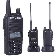 Baofeng UV-82 Dual Band Two-way Radio Walkie Talkie Ham VHF UHF FM Seat Charger