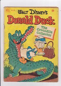 "Four Color #348, Donald Duck ""The Crocodile Collector"", 1951, Dell/ Disney Barks"