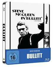 BULLITT (Steve McQueen) Blu-ray Disc, Steelbook NEU+OVP