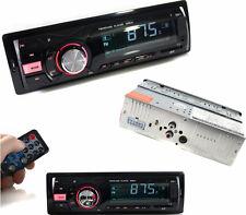 Autoradio FM.Stereo x auto.Legge penna USB,SD,AUX,radio,telecomando,luce rossa