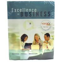 Excellence In Business 3rd Edition 3E Prentice Hall Book & Navigating Blackboard