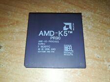 AMD-K5-PR90ABQ, AMD K5 PR90, GOLD, nice cond.