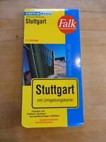 Stadtplan Stuttgart Falk 11. Auflage Innenstadt- und Umgebungskarten city plan