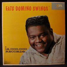 FATS DOMINO-FATS DOMINO SWINGS-Rare Original 1959 Album-IMPERIAL #LP 9062