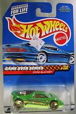 Hot Wheels 1:64 Scale 1998 Game Over Series SPEED BLASTER (HURRICANE SPOKES)