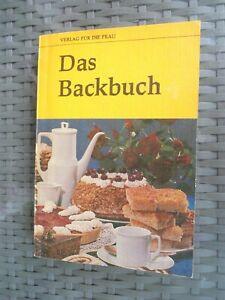 Buch Taschenbuch DDR Das Backbuch 1985 Verlag für die Frau