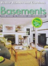 Basements Your Guide to Planning and Remodeling Better Homes and Gardens 1999 .