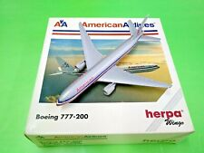 Herpa Wings 1:500 506397 AA America Airlines B777-200 - Diecast Aircraft Model