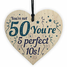 Funny 50th Birthday Accessories Gifts For Men Women Family Friend Novelty Presen