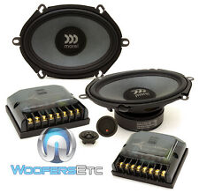 "MOREL TEMPO ULTRA 572 5""X7"" 110W RMS COMPONENT NEODYMIUM TWEETERS SPEAKERS NEW"