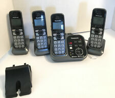 Panasonic KX-TG833SK Bluetooth Cordless Phone with Voice Assist - 4 Handsets