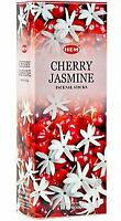 Hem Incense Sticks Cherry Jasmine Bulk 120 Stick for Cleansing Spiritual