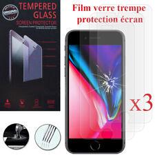Vidrio Lámina Templado Protección Pantalla Serie IPHONE 8 7 6S Plus XS 11 Pro