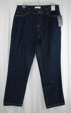 Womens Christopher Banks Petite Size 8P 8 jeans NWT NEW $45 Straight Leg