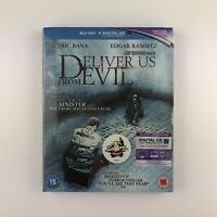 Deliver Us From Evil (Blu-ray, 2015) s *New & Sealed*