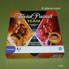 Trivial PURSUIT TEAM Germania edizione di Parker-parte OVP in pellicola 1a TOP!