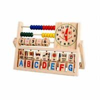 Jouets en bois d'apprentissage perfectionnement polyvalent Rabat Abacus pour  66