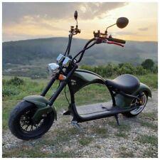 E-Roller Chopper (Harley) schwarz 2000W 45km/h mit Straßenzulassung