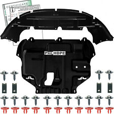 FORD FOCUS C-MAX 03-07 UNDER ENGINE BUMPER COVER Clips Instruction Certificate