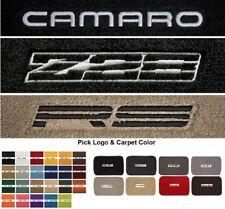 Lloyd Mats Camaro Custom Embroidered Classic Loop Front Floor Mats (1982-1992)