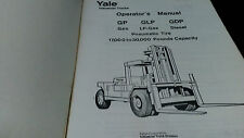 Yale Lift Parts Manual Models  GP 170F-300F