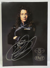 BABYLON 5 :  SUSAN IVANOVA TNT PR PHOTO CARD SIGNED BY CLAUDIA CHRISTIAN (C3) 67