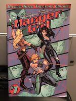 DANGER GIRL #1 DANGER-SIZED TREASURY EDITION J SCOTT CAMPBELL
