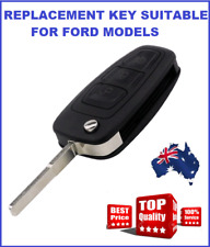 3B LATEST FORD RANGER REMOTE FLIP KEY SHELL C-MAX FOCUS MONDEO HU101