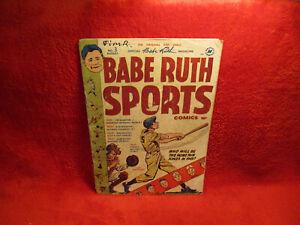 BABE RUTH SPORTS #3 JOE DIMAGGIO COVER 1949