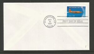 USA 1997 FDC Edwards AFB 50th Anniversary of 1st Supersonic Flight SG 3368