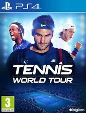 ➡️ Tennis World Tour jeu PlayStation 4 PS4 en version française intégrale 🇫🇷
