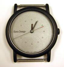 VINTAGE - SONY DESIGN SD-1501 ULTRA THIN HAND WRIST WATCH 2028 (JAPAN) LO5920-Y