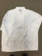 White Chef Coat, Size Large
