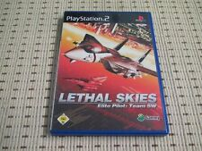 Lethal Skies elite piloto equipo sw para PlayStation 2 ps2 PS 2 * embalaje original *