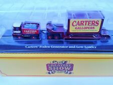 FODEN Generator Truck & Low Loader CARTERS Diecast Vehicle 1/76 - BNIB